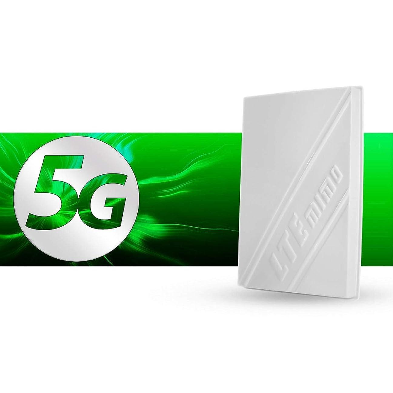 詳細に笑豚肉3G/4G/5G MIMO LTE 14dBi Outdoor Panel Antenna 700-800MHz