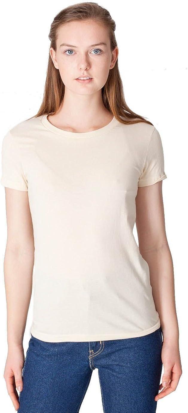 American Apparel Women Fine Jersey Short Sleeve Women's T-Shirt