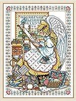クロスステッチ刺繍キット 図柄印刷 初心者 ホームの装飾 刺繍糸 針 布 11CT Cross Stitch ホームの装飾 天使 40X50CM