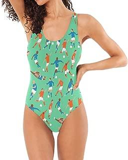 Womens Swimsuits Signs of The Zodiac One Piece Bathing Suits Girls Bikini