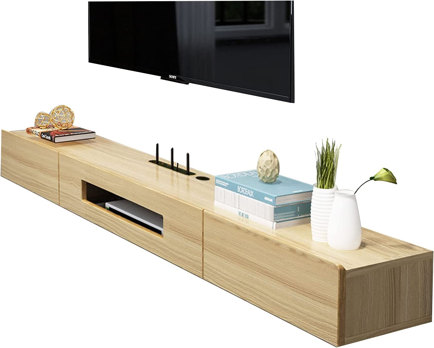 Bxzzj Floating service All items in the store TV Stand Component Shelf Cab Wall-Mounted 120