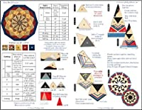 1 X Jewel Box Junior Ruler (Gem Junior): Gems 5 and 10 Combined in One Tool by Phillips Fiber Art
