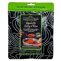 Wayfayrer Food - Vegetable Curry & Rice