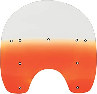 Replacement Plastic for Harley-Davidson 15 Replacement Shield Heritage//Fatboy Memphis Shades MEP6161 Black Windshield