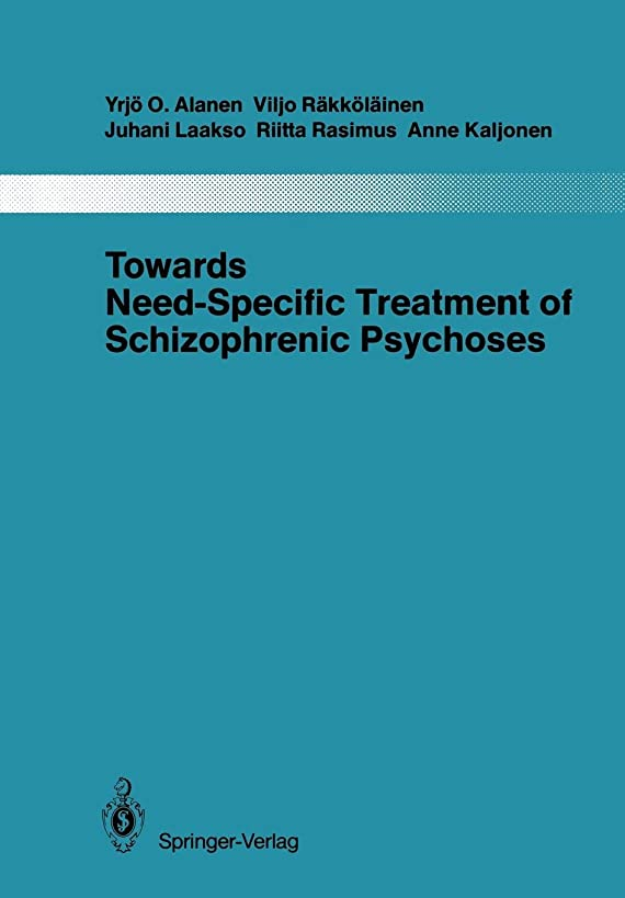 Towards Need-Specific Treatment of Schizophrenic Psychoses: A Study of the Development and the Results of a Global Psychotherapeutic Approach to ... aus dem Gesamtgebiete der Psychiatrie)