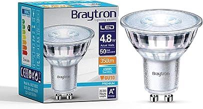 Voordeelverpakking LED-lampen GU10 glas 4,8 W   360 lumen (koudwit)