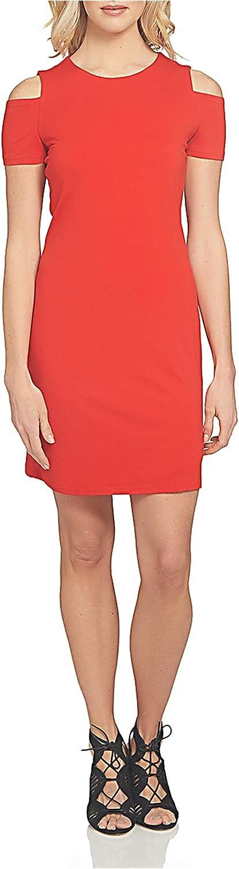 1.State Womens Cold Shoulder ALine Dress