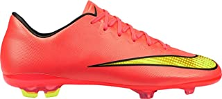 Nike JR Mercurial Vapor X FG Soccer Cleats (3Y)