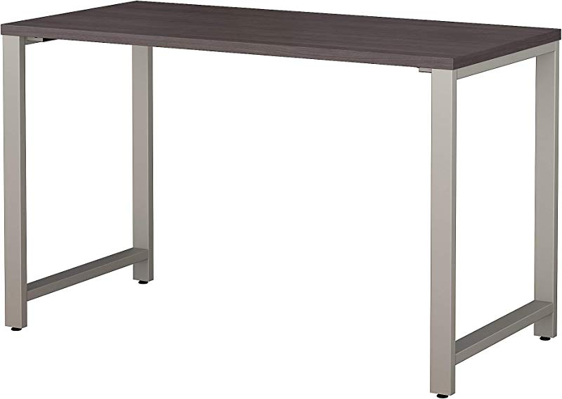 Bush Business Furniture 400 Series 48W X 24D Table Desk In Storm Gray
