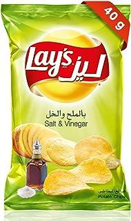 Lays Salt & Vinegar Potato Chips, 40 gm