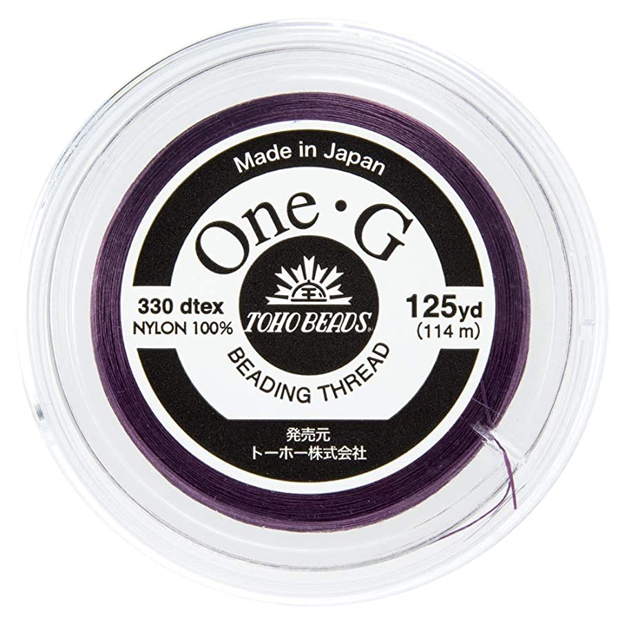 Toho One-G Beading Thread, 125-Yard (114-Meter) Spool - Purple