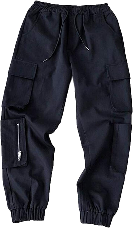 Mens Streetwear Hip Hop Pants Cargo Pants Tech wear Joggers for