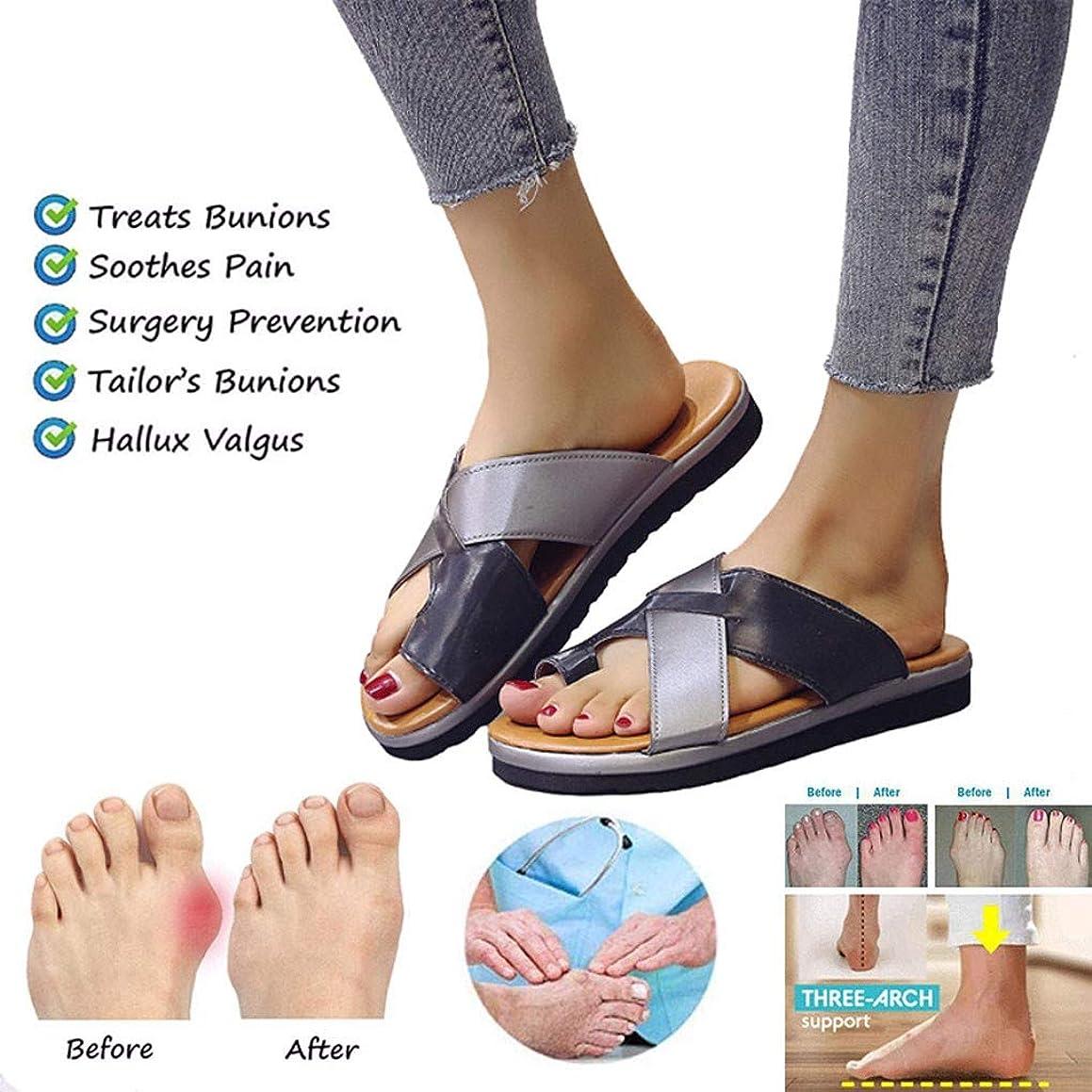 JPNVXIE Sandals for Women Bunion Correction, Arch and Bunion Support Sandals Women, Sandals for Women Gladiator, Summer Beach Travel Shoes