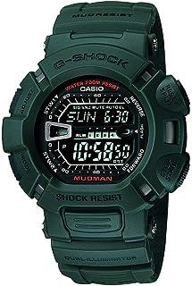 كاسيو ساعة رياضية رجال رقمي بلاستيك مطاطي - G-9000-3VSDR