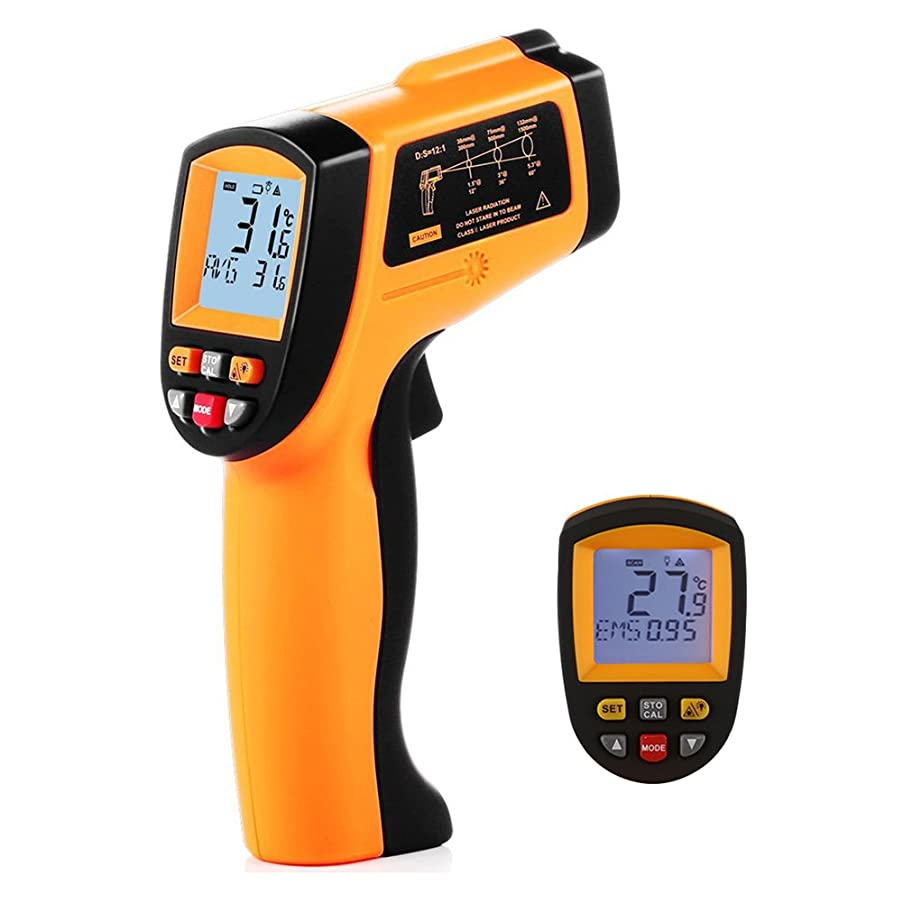 OOLIFENG Non-Contact Digital Laser Infrared Thermometer IR Temperature Gun -50℃ ~ 950℃ (-58℉ ~ 1742℉) for Cooking Oven and Candy