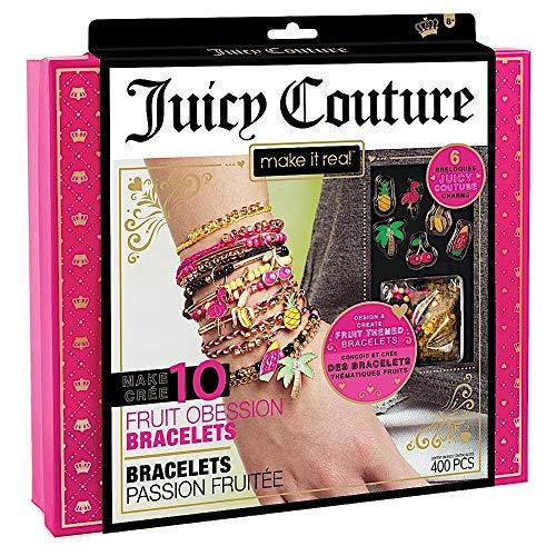 Make It Real – Juicy Couture Fruit Obsessions Bracelets. DIY Bracelet Making Kit for Girls. Design...