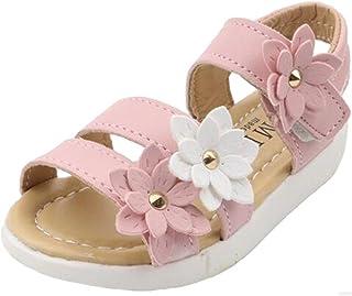 PPXID Fille Sandales D'Été Fleur Plat Princesse Chaussures/Romaine Chaussures