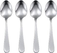Eubell Cute Spoon Dessert Tea Appetizer Bistro Cake Ice Cream Sugar Spoon,1PC Heart Shape Spoon Stainless Steel Coffee Spoon