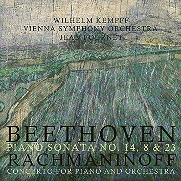 Beethoven: Piano Sonata, No. 14, 8 & 23 / Rachmaninoff: Concerto for Piano and Orchestra