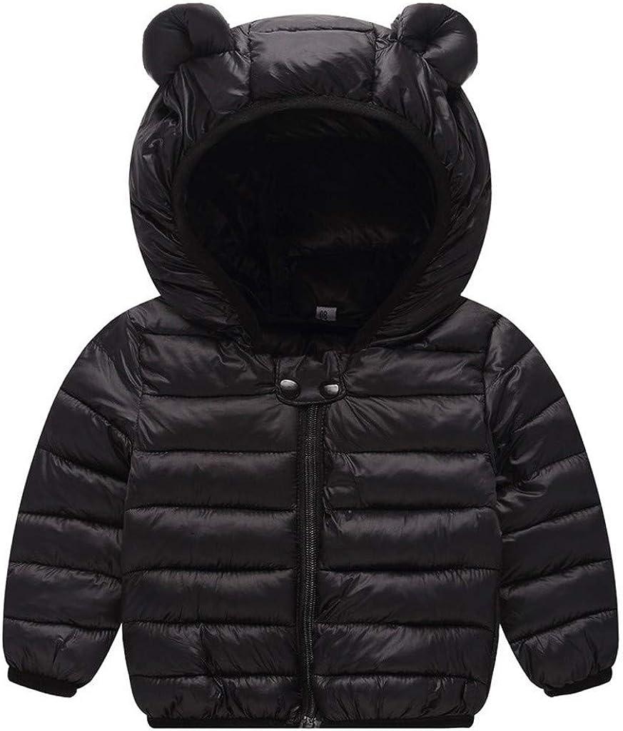 Mousmile Newborn Toddler Baby New life Boys Girls Jacket Puffer Wa Winter Quantity limited