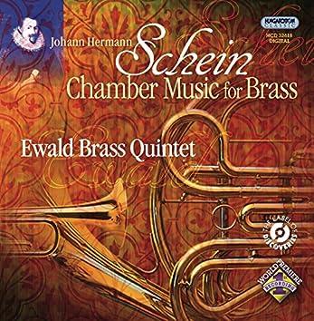 Schein, J.H.: Chamber Music for Brass