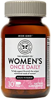 The Honest Company Women's Once Daily Multi-Vitamin, 30 Count