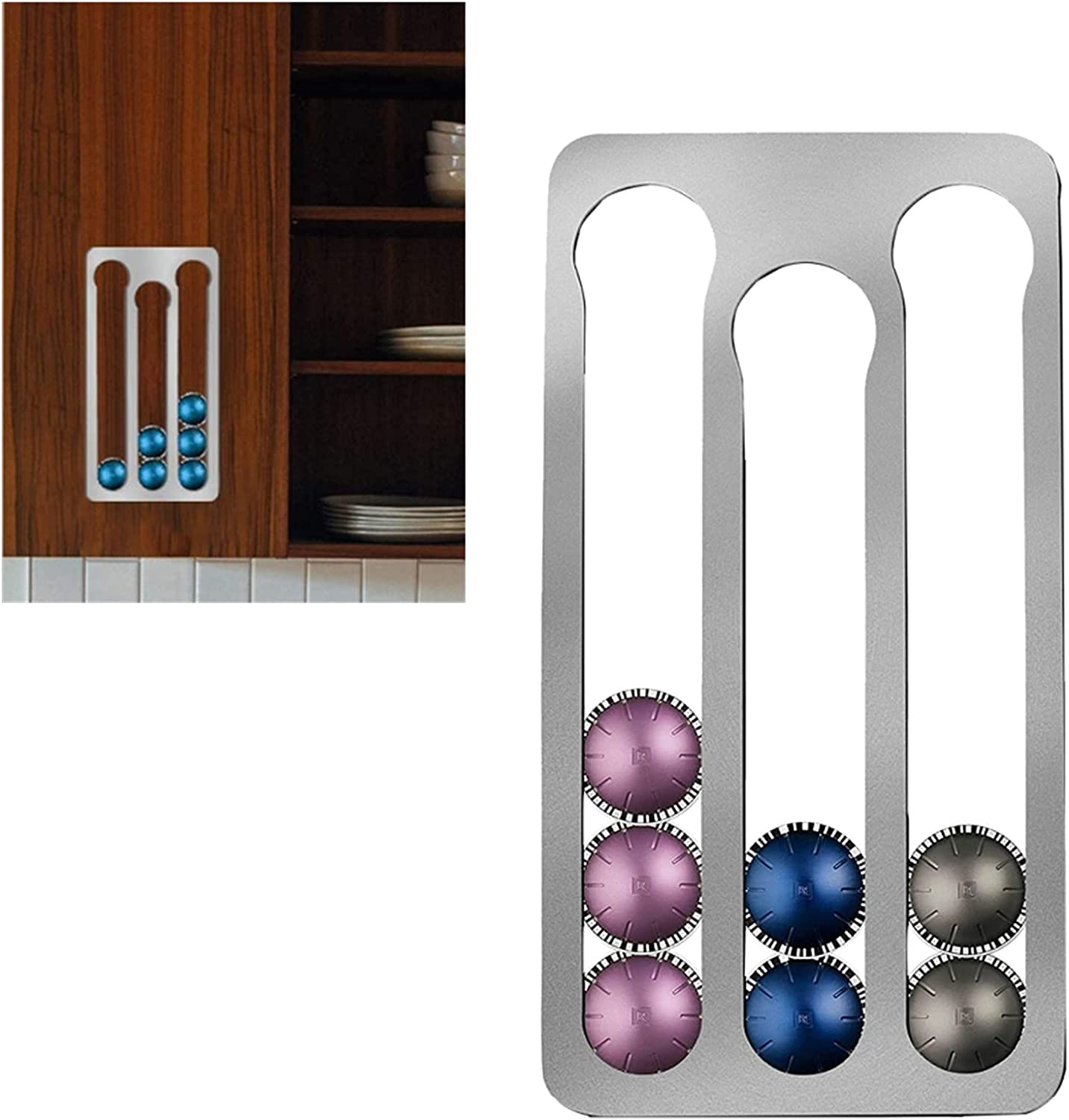 Yongqin Coffee Pod Product Holder for Wall-Mo Nespresso Capsules Vertuo Cheap