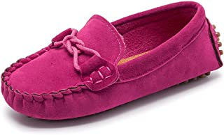 2018 Little Kid's Boys and Girl's Outdoor Loafers Flat Heel Slip On Toddler's Shoes for Unisex