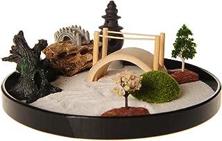 Juego de accesorios y herramientas para jardín Zen de