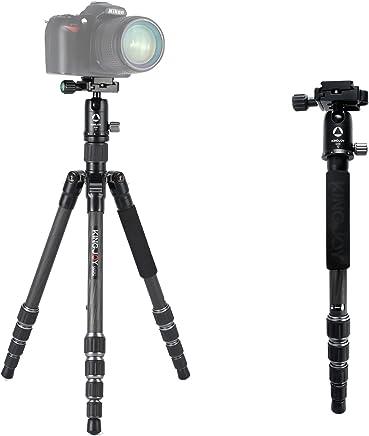 Powerfulline ZOMEI Mini Foldable Travel Tripod Ball Head Compact Holder for Phone DSLR Camera