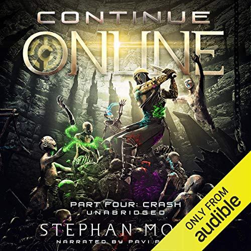 Continue Online Part Four: Crash audiobook cover art