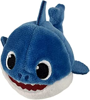 Pinkfong Baby Shark Mini Plush Daddy Shark – Fun Size Baby Shark Stuffed Beanie..