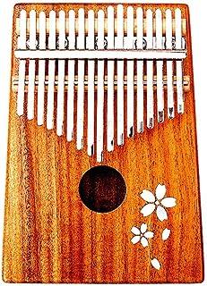 17-Key Kalimba Wooden Thumb Piano Mbira Natural Mini Keyboard Instrument Introduction Student Finger Piano (Color : D)
