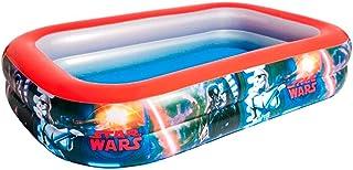 Acan Bestway - Piscina Hinchable Infantil Star Wars 262 x 175 x 51 cm