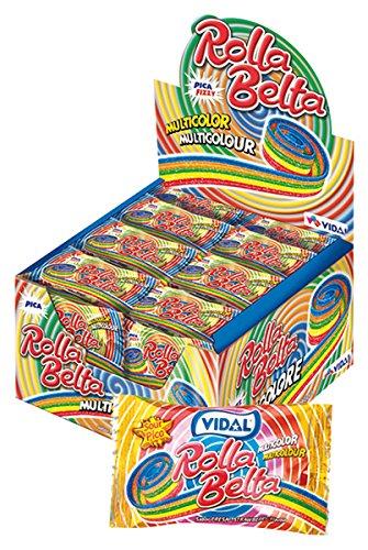 Vidal Roll-Belt Rainbow 19g x 24