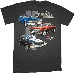 GM Chevrolet Chevelle Classic Car Lineup Automobile T-Shirt