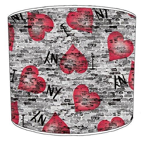 Premier Lighting Ltd 12 inch i Love New York Abat-Jour 9 pour Un plafonnier