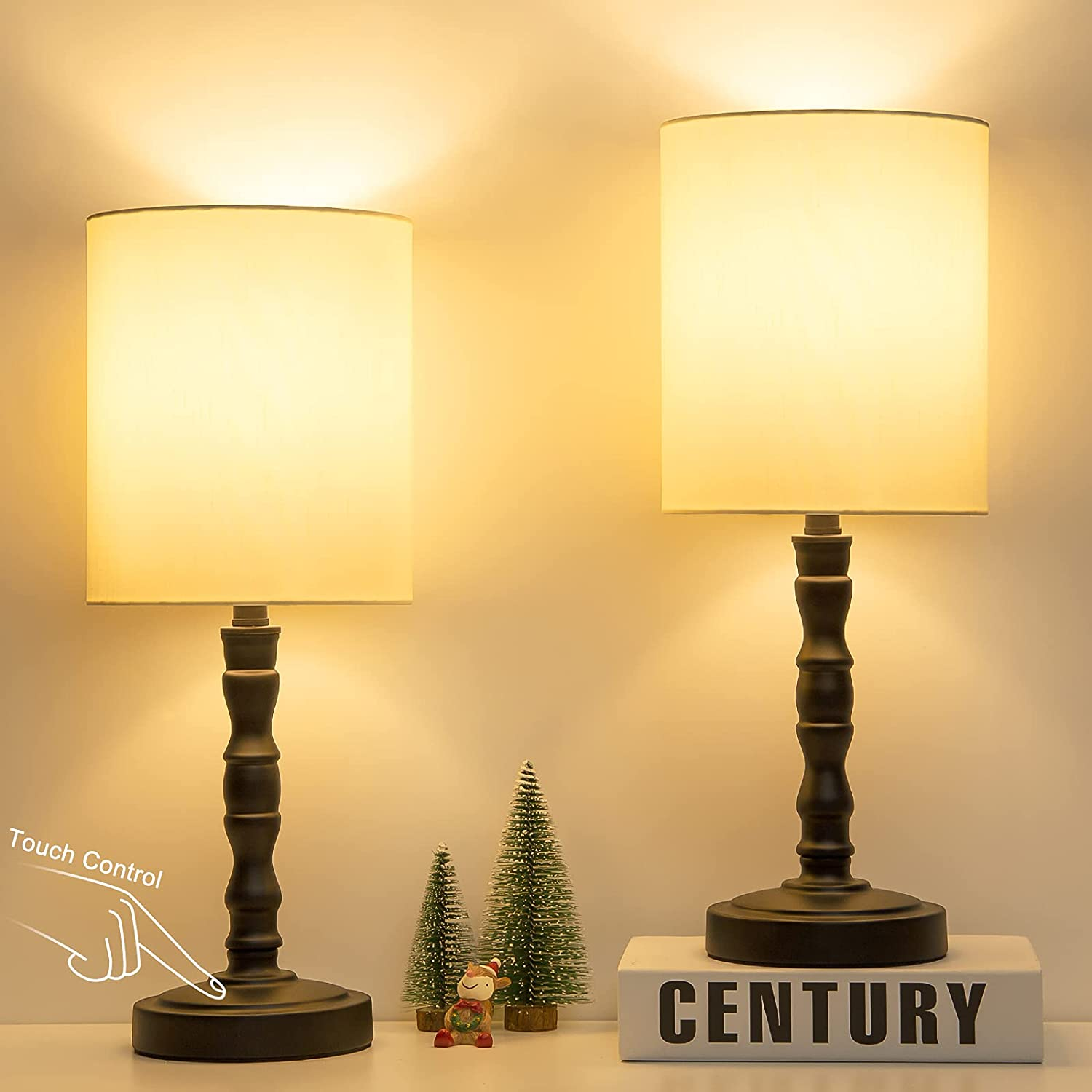 Touch Control Table Lamp Set of Way 3 2 Bedside New mail order Fresno Mall with