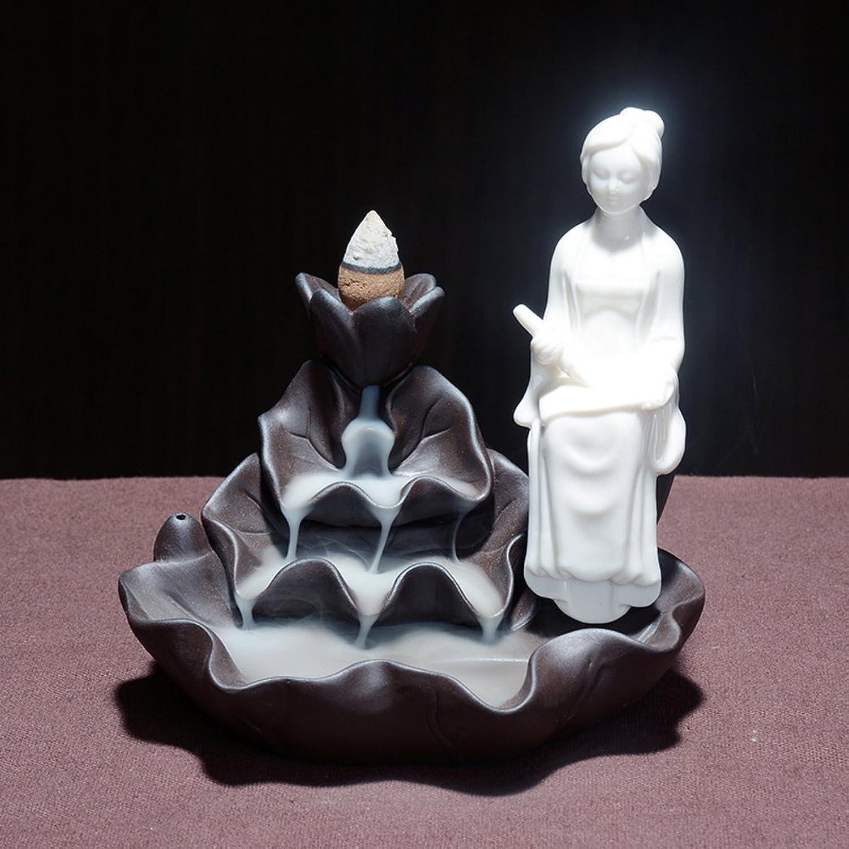 Back [Creative] [Decoration] [Household] Ceramics Aroma Stove-D
