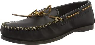 Minnetonka Camp MOC, Mocassins (Loafers) Homme - Noir - Noir, 49