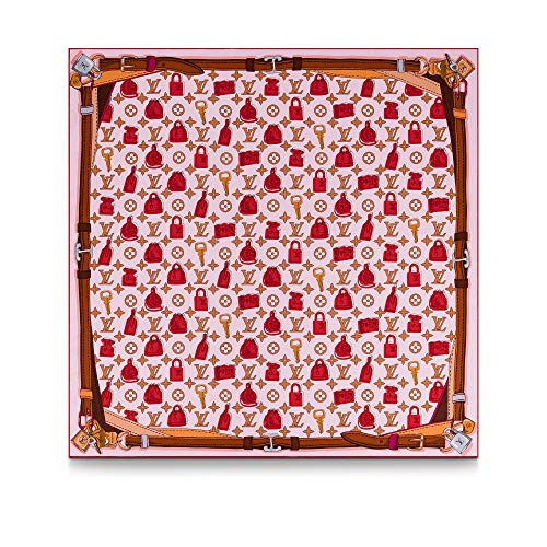 Louis Vuitton Crazy in Locks Square Scarf