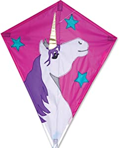 25 in. Diamond Kite - Lucky Unicorn