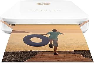 HP 2FR85A#AH2 Sprocket Plus - Impresora fotográfica portátil Tecnología de impresión Zink Bluetooth Fotos  5.8 x 8.7 cm Blanco