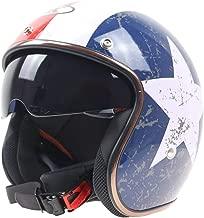 jet pilot style motorcycle helmet