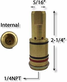 Tweco PK3 KINGQ 24A-50 gas Nozzle Self Insulated