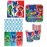 Amscan PJ Masks Party Supplies Deluxe Pack for 16 Guests