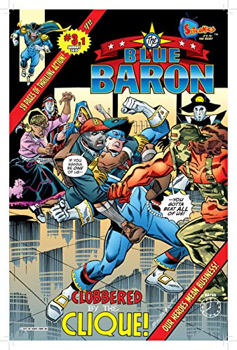 The Blue Baron 3.1: Clobbered by the Clique! (English Edition ...