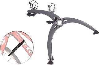 Saris 805 Bones 2-Bike Or 3-Bike Trunk Mount Rack w/ 4 Wheel Stabilizer Straps