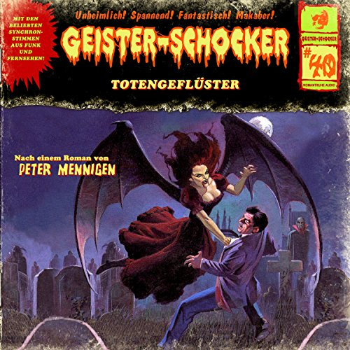 Totengeflüster audiobook cover art