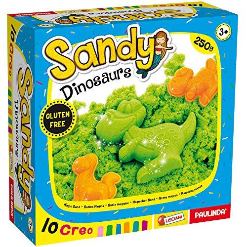 Lisciani Giochi Sandy Play Basic 250 G con Formine, Assortito in Display